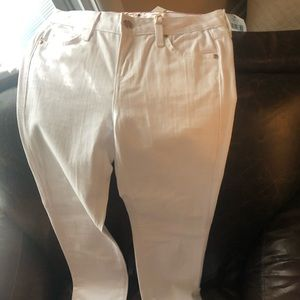 NWT Kate Spade white jeans size 26